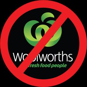 Echo Website hacked by Anti-Woolworths Agent