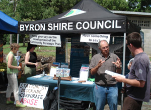 Byron Shire Director of Planning Answers Questions on the Station St Blockade