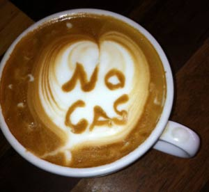 Frack-free coffee now available in Mullumbimby