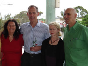 Bob Brown Speaks at Community Centre  in Byron Bay